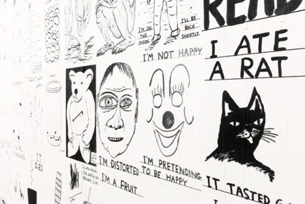David Shrigley: Lose Your Mind