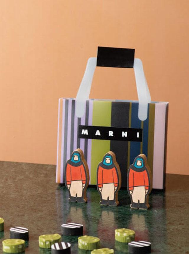 MARNI Chocolate Bag