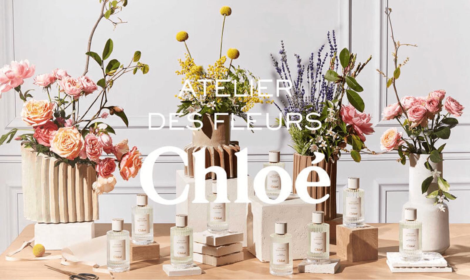 """CHLOÉ """"Atelier des Fleurs"""""""