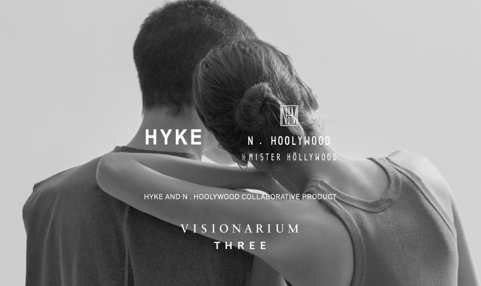 THREE × HYKE × N.HOOLYWOOD