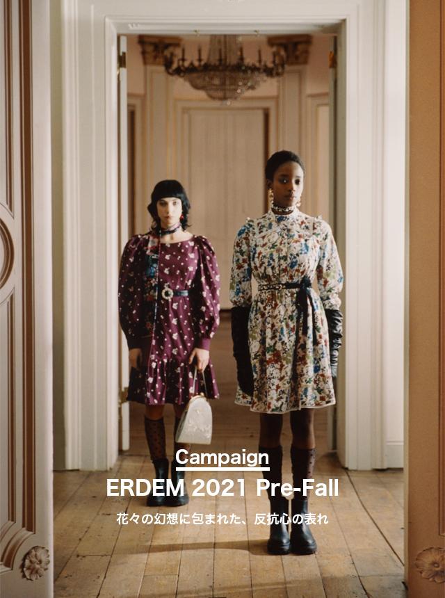 【CAMPAIGN】ERDEM 2021 Pre-Fall
