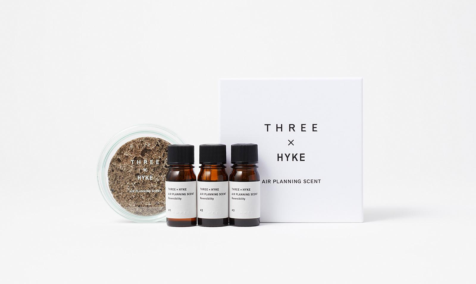 THREE × HYKE