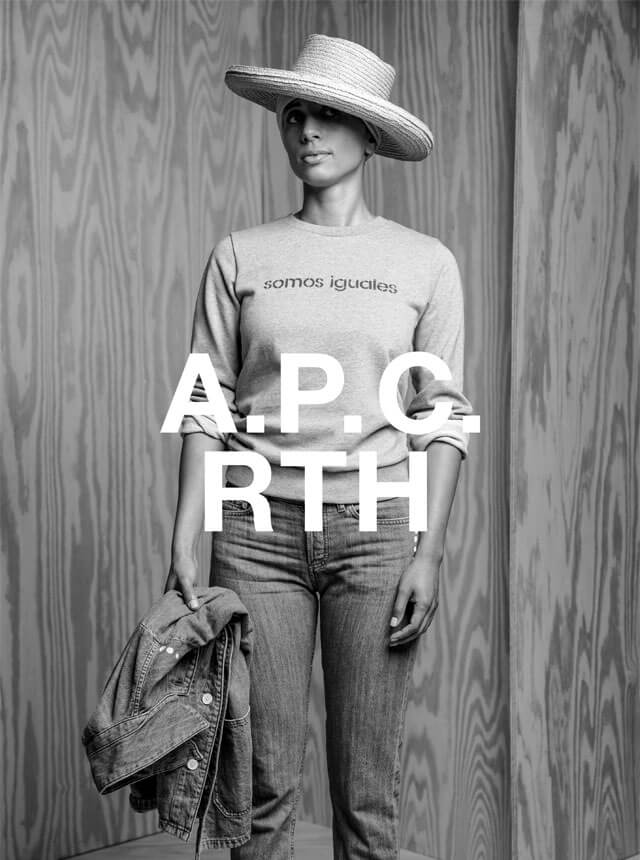 A.P.C. × RTH INTERACTION #10