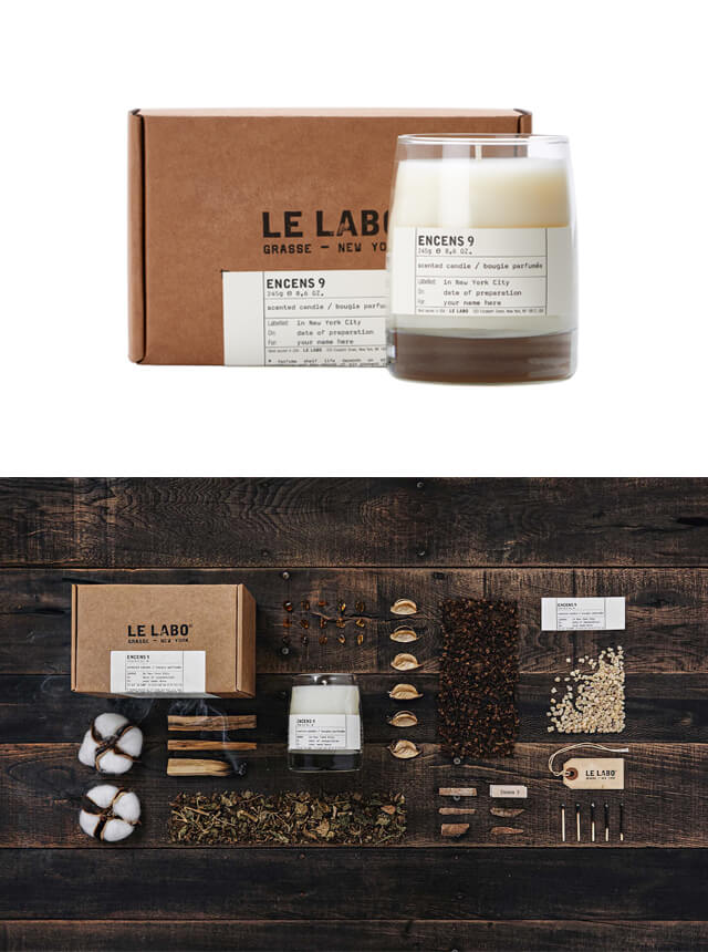 LE LABO Story & New Candle